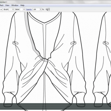 CAD & FASHION ILLUSTRATION – Adding details & trims