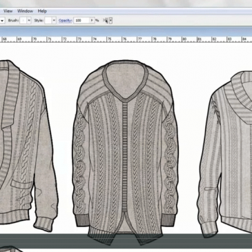 CAD & FASHION ILLUSTRATION – The basics