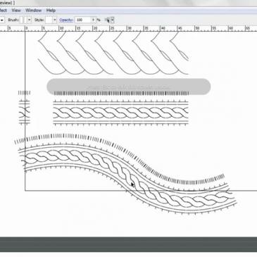 CAD & FASHION ILLUSTRATION –  Using brushes