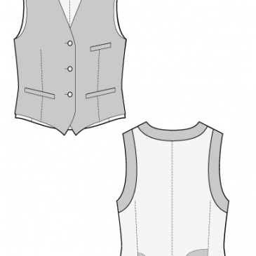 TOMMY WAISTCOAT – Sewing Pattern
