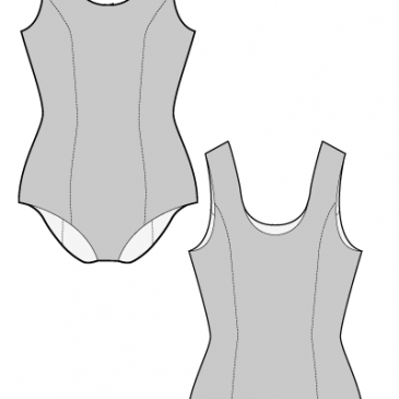 BASIC SWIMSUIT – Sewing Pattern
