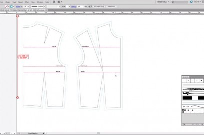 PATTERN CUTTING – BASIC BODICE BLOCK