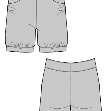 BORKA SHORTS – Sewing Pattern