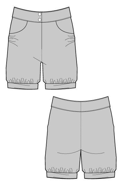 BORKA SHORTS – Sewing Pattern