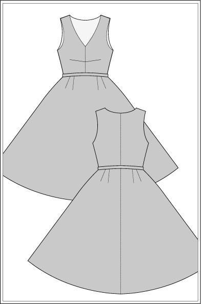 carmen-vestido de 1950