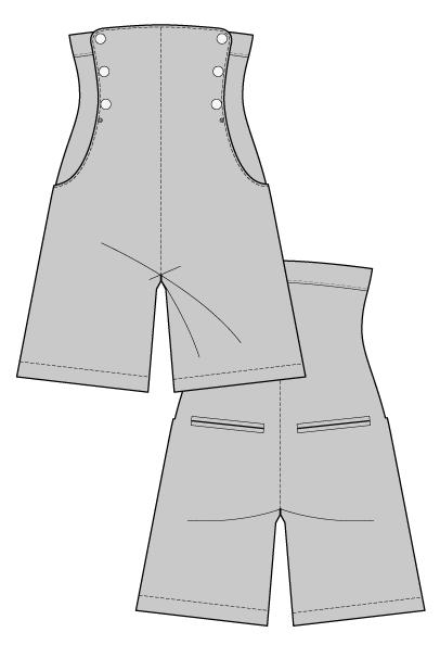 HELENA CULOTTES – Sewing Pattern